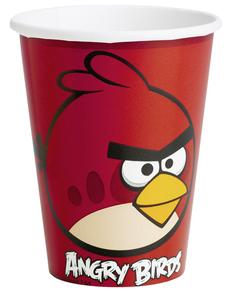 Set de vasos Angry Birds