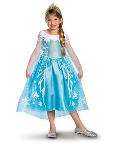 Disfraz de Elsa Frozen Prestige para niña