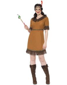 Disfraz de doncella india