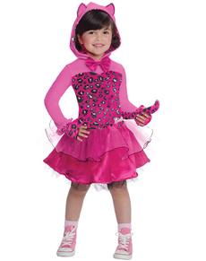 Disfraz de Barbie Kitty rosa para niña