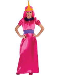 Disfraz de Princesa Chicle Hora de Aventuras para niña