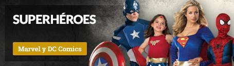 Disfraces Superhéroes Carnaval y Villanos