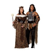 Disfraz de rey de África