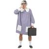 Disfraz de bata colegial
