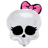 Ballon tête de mort Monster High