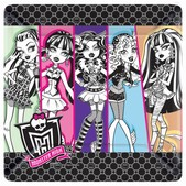 Kit de platos de cena Monster High