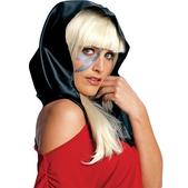 Pañuelo de cabeza negro Lady Gaga