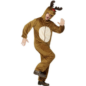 Disfraz de Reno Rudolf marrón