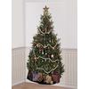 Fondo pared Árbol de Navidad