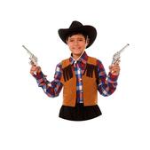 Chaleco vaquero infantil