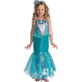 Disfraz La Sirenita Ariel para niña versión Prestige