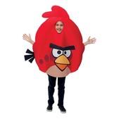 Fato de Angry Birds Vermelho infantil