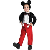 Disfraz de Mickey Mouse Deluxe para niño