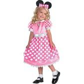 Disfraz de Minnie Mouse Clubhouse Rosa Deluxe para niña
