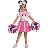 Disfraz de Minnie Mouse Clubhouse Cheerleader para niña