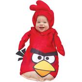 Fato de Angry Birds Vermelho saquinho para bebé