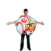 Fato de Angry Birds Piloto Luke para adulto