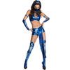 Costume de Kitana Mortal Kombat pour femme