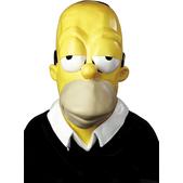 Máscara de Homer Simpson para adulto