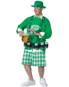 Disfraz de Irlandés animado y achispado