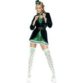 Disfraz de Saint Patrick Fever para mujer