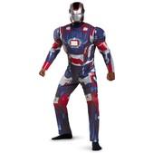 Disfraz de Iron Patriot deluxe Iron Man 3