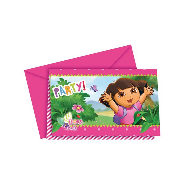 Set de invitaciones Dora la Exploradora: comprar online