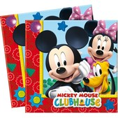 Set de servilletas Mickey Clubhouse