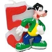 Vela número 5 Goofy Disney