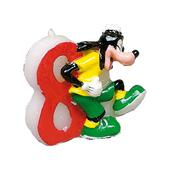 Vela número 8 Goofy Disney