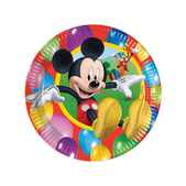 Set de platos grandes Mickey Mouse
