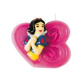 Vela número 3 Blancanieves Disney Princesas