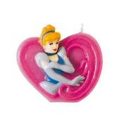 Vela número 9 Cinderela Disney Princesas