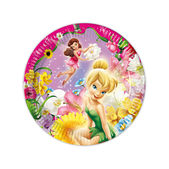 Set de platos Disney Fairies
