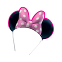 Set de tiaras rosas Minnie Mouse