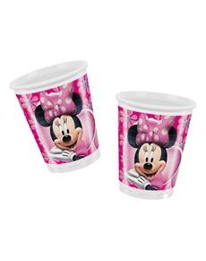 Set de vasos rosas Minnie Mouse