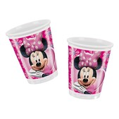 Set de vasos rosas Minnie Mouse