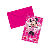 Set de invitaciones Minnie Mouse