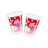 Set de vasos Minnie Mouse