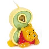 Vela número 8 Winnie the Pooh