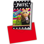 Set de invitaciones The Muppets