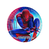 Set de platos de postre Spiderman