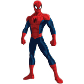 Figura de cartón articulada Ultimate Spiderman