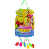 Piñata silueta Festín Winnie the Pooh