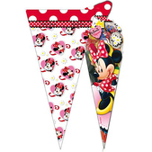 Lot de sacs de fête cône Minnie Mouse