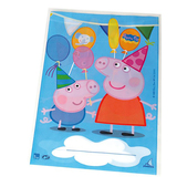 Set de bolsas rectangulares Peppa Pig