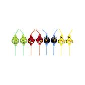 Conjunto de palhinhas Angry Birds