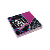 Set de servilletas Monster High