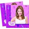 Set de servilletas Violetta