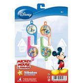 Set de silbatos Mickey Mouse